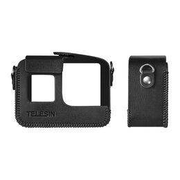 Аксессуары для экшн-камер - Telesin Кожаный чехол GoPro HERO8 с ремнем на…, 0