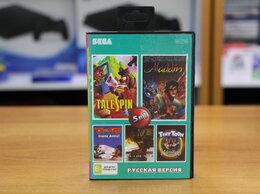 Игры для приставок и ПК - Картридж Sega AB-5014 5в1 (Aladdin, Tale spin), 0