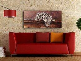 Картины, постеры, гобелены, панно - Картина на холсте Леопард, 0