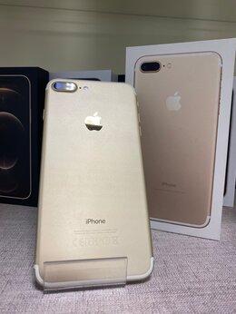 Мобильные телефоны - iPhone 7 Plus Gold 128gb б/у Ростест, 0