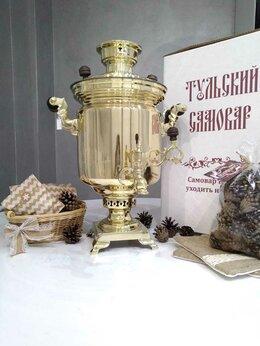 Самовары - Самовар дровяной Тулпромторг им Ленина 5л , 0