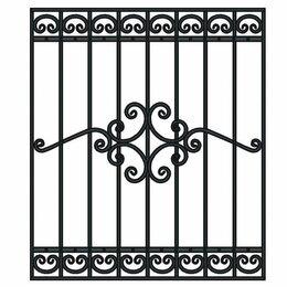 Сетки и решетки - Кованая решётка на окна РО-1552Пш, 0