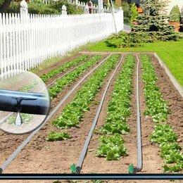 Капельный полив - Капельная эмиттерная лента полива растений КЛ 50 метров шаг 30 см, 0