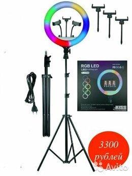 Осветительное оборудование - Кольцевая мультиколор лампа RGB MJ 36, 0