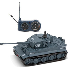 Радиоуправляемые игрушки - Радиоуправляемый танк Great Wall Tiger (серый, 49MHz, 1:72) - 2117-4, 0
