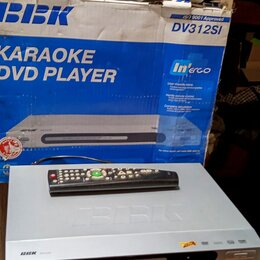 DVD и Blu-ray плееры - DVD плейер BBK, 0