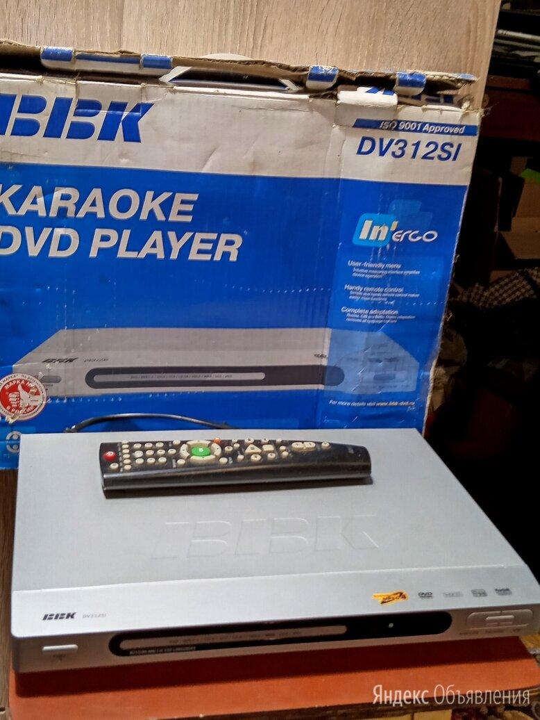 DVD плейер BBK по цене 700₽ - DVD и Blu-ray плееры, фото 0