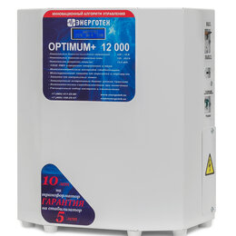 Стабилизаторы напряжения - Стабилизатор напряжения Энерготех OPTIMUM 12000…, 0