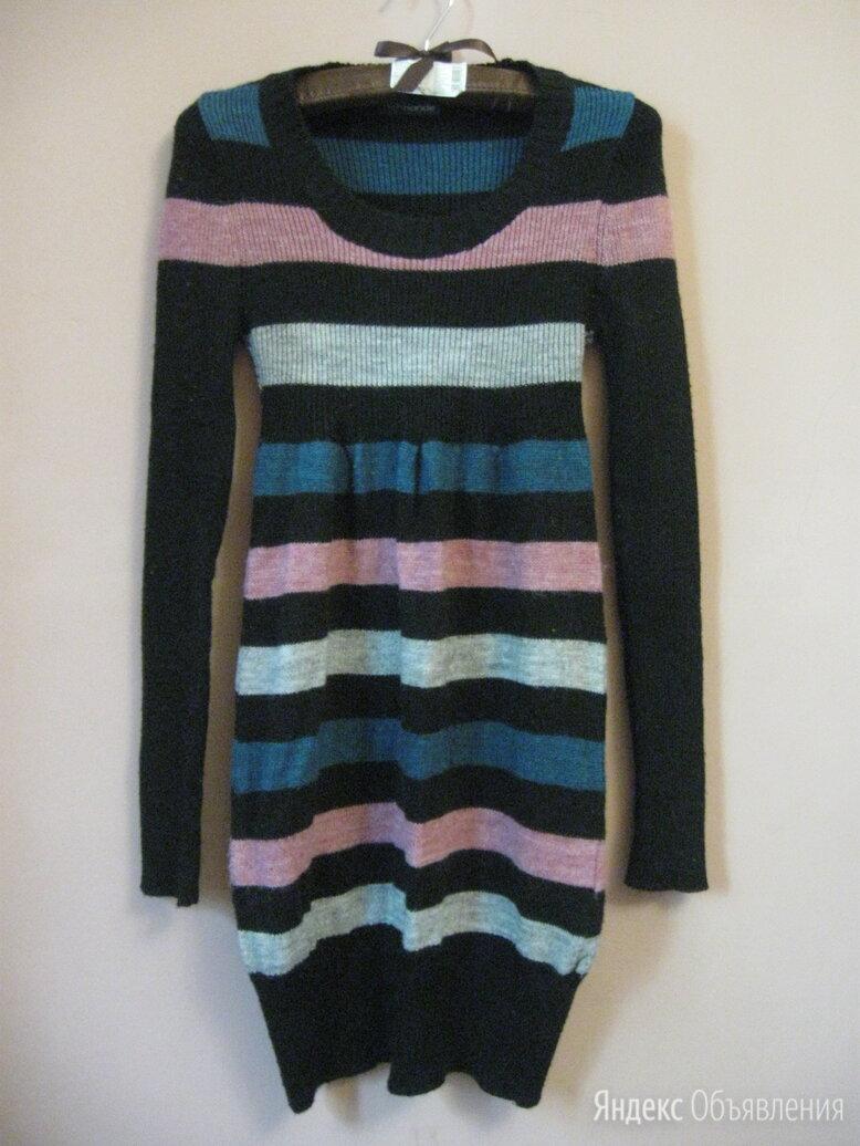 Теплое полосатое платье р.42-44 по цене 600₽ - Платья, фото 0