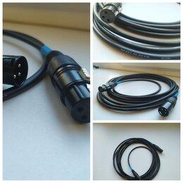 Оборудование для звукозаписывающих студий - Микрофонный кабель 5 м Canare/Japan // Hermitage Vintage Cable, 0
