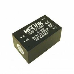 Кабели и разъемы - AC/DC конвертер HLK-5M03, 3.3В 5Вт, 0