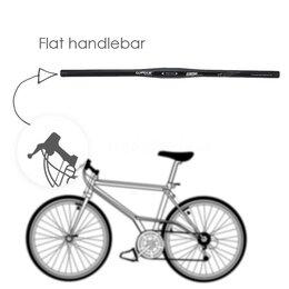 Рулевое управление - Алюминиевый руль 620 мм для горного велосипеда, 0