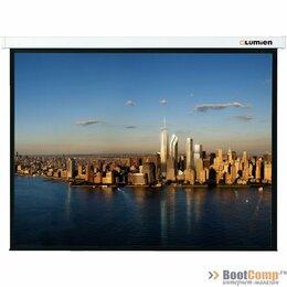Аксессуары для проекторов - Экран проекционный 180x180 Lumien Master Picture настеный, 0
