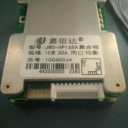 Аксессуары и запчасти - BMS плата управления аккумулятором Li-ion 10S 36V/30A, 0
