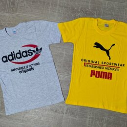Футболки и майки - Новые 💚Футболки adidas, puma 3вида, р. 128-152, 0