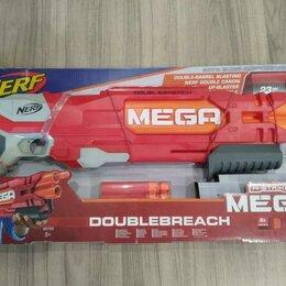 Игрушечное оружие и бластеры - Бластер NERF Mega Даблбрич, 0
