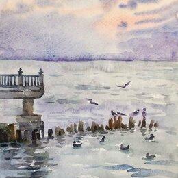 """Картины, постеры, гобелены, панно - Картина """"Балтийские чайки"""", 0"""