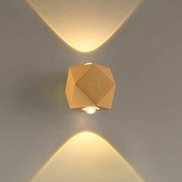 Настенно-потолочные светильники - Уличный настенный светодиодный светильник Odeon…, 0