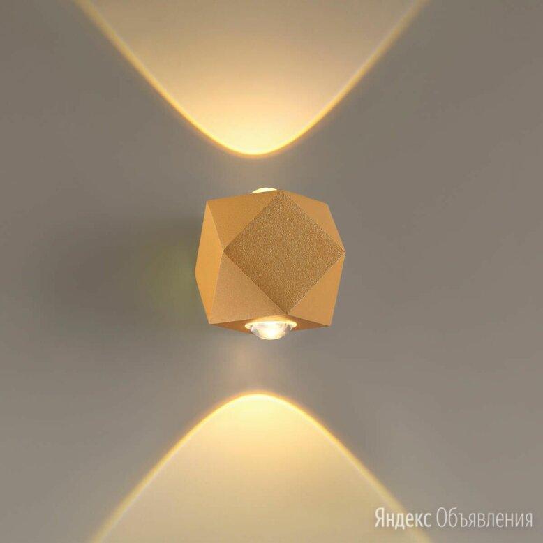 Уличный настенный светодиодный светильник Odeon Light Diamanta 4220/4WL по цене 3700₽ - Настенно-потолочные светильники, фото 0