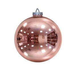 Новогодний декор и аксессуары - Шар 250мм (цвет розовое золото), 0