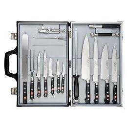 Наборы ножей - Набор кухонных кованых ножей 17 предметов…, 0