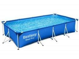 Бассейны - 56405 Bestway Каркасный бассейн Steel Pro…, 0