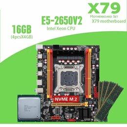 Материнские платы - Мать + проц 16 ядер + 16 Гб DDR3, 0