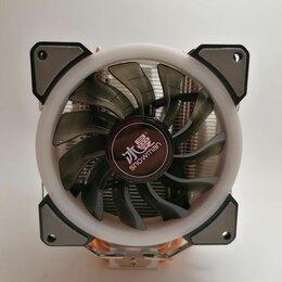 Кулеры и системы охлаждения - Кулер для процессора Snowman M-T4 с подсветкой RGB, 0