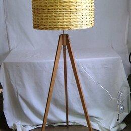 Торшеры и напольные светильники - Торшер купить красивые люстры плетеные , 0