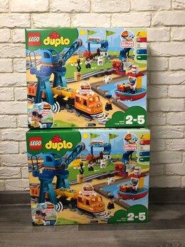Игровые наборы и фигурки - Новые Lego Duplo Грузовой поезд 10875, 0