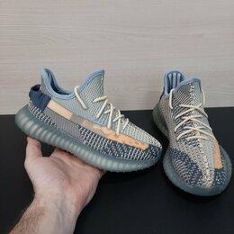 Кроссовки и кеды - Кроссовки Adidas Yeezy Boost 350 серый (A795), 0