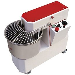 Тестомесильные и тестораскаточные машины - Тестомес спиральный Pizza Group IR33 VS, 0