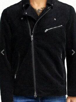 Мотоэкипировка - Асимметричная вельветовая куртка в байкерском…, 0