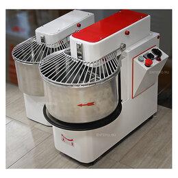 Тестомесильные и тестораскаточные машины - Тестомес спиральный Pizza Group IR42 VS, 0