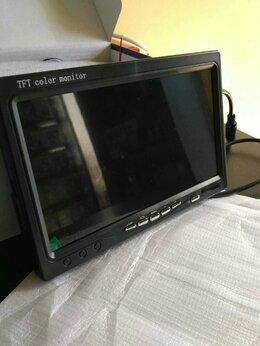 Автоэлектроника - Монитор для камеры заднего вида 7 на панель, 0