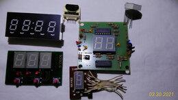 Радиодетали и электронные компоненты - Индикаторы сегментные на платах., 0