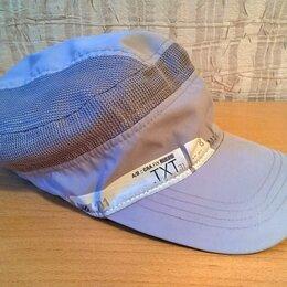 Головные уборы - Летняя кепка с козырьком, из легкой ткани, новая, цвет фиолетовый, 0
