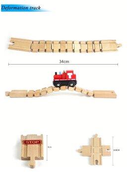 Детские железные дороги - Элементы для деревянной железной дороги. , 0
