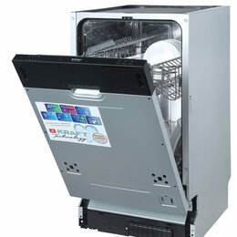 Посудомоечные машины - TCH-DM454D901SBI Встраиваемая посудомоечная…, 0