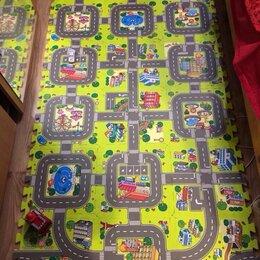 Развивающие коврики - Новый толстый коврик пазл 18шт. 1,6м² (дороги #1), 0