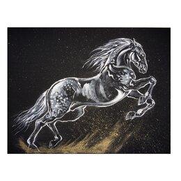 Картины, постеры, гобелены, панно - Картина «Лошадь среди звёзд», 0