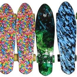 Скейтборды и лонгборды - Пенниборд принт, 0