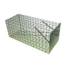 Отпугиватели и ловушки для птиц и грызунов - Живоловка-клетка для крыс, 0