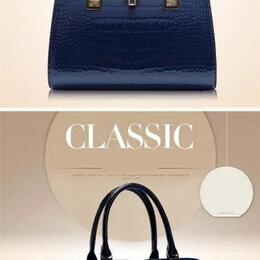 Сумки - Модная синяя сумка, 0