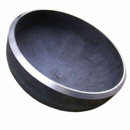 Запорная арматура - Заглушка эллиптическая Дн 57х3 (Ду 50) под приварку Ст20 ГОСТ 17379-2001, 0