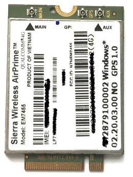 3G,4G, LTE и ADSL модемы - EM7455 LTE Cat6 4G, 3G  до 300 Мб\с . Модем для…, 0
