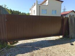 Заборы и ворота - Ворота откатные, 0