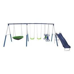 Игровые и спортивные комплексы и горки - Детский уличный комплекс DFC 76208, 0