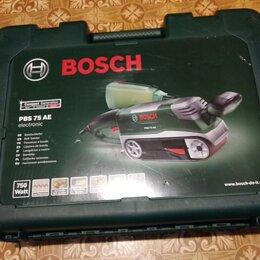 Шлифовальные машины - Ленточная шлифмашина Bosch PBS 75 AЕ, 0