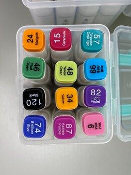 Рисование - Маркеры для скетчинга двухсторонние 12 цветов  , 0